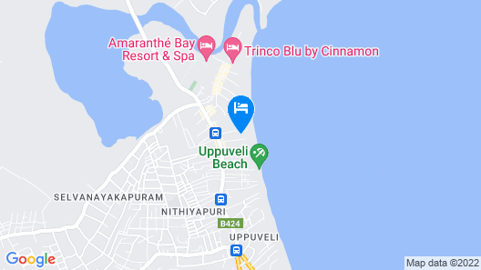 Ubay Guest House Map