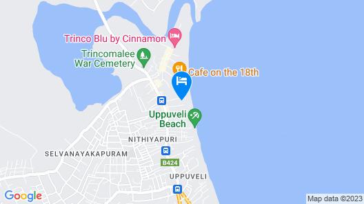 Blue Sand Beach Resort Map