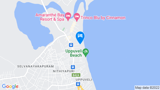 Blue Sand Resort and Hotel Map