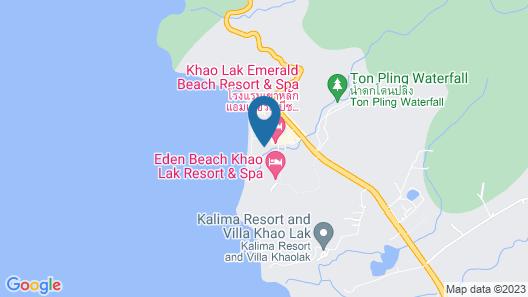 Khaolak Emerald Beach Resort & Spa Map
