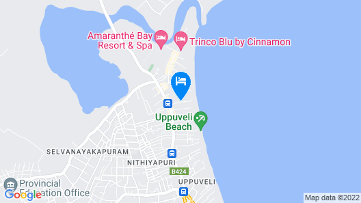 Orion Beach Way Map