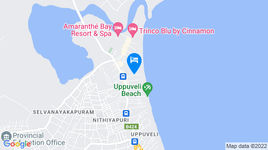 Palm Beach Resort Map