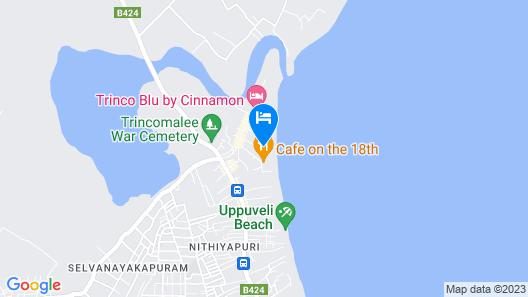 onelove hostel Map