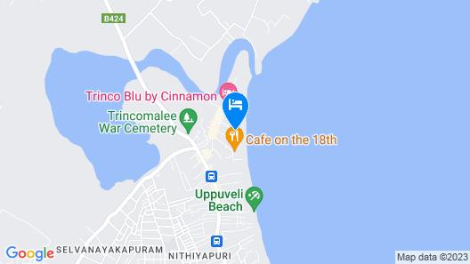 Alfresco Beach Hotel Map