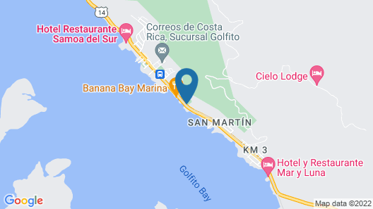 Fish Hook Marina & Lodge Map