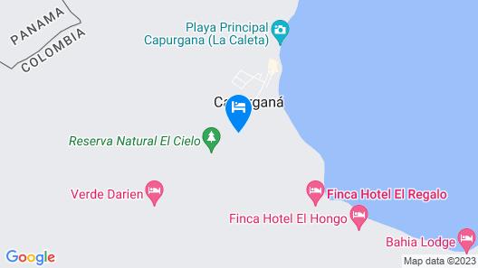 Hotel Bahia Pinorroa Map