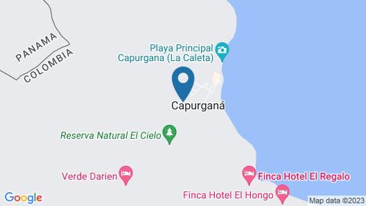 Finca El Regalo Map