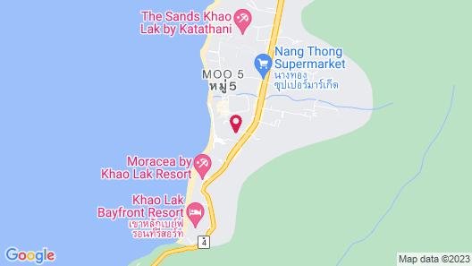 Baan Khaolak Beach Resort Map