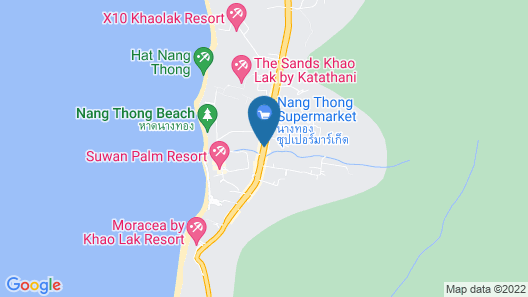 Yuppadee Room for Rent Khaolak Center Map