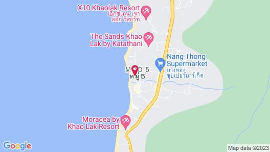 Khaolak Oriental Resort - Adults Only Map