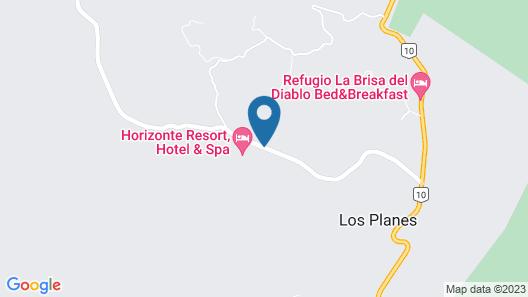 Horizonte Resort Hotel & Spa Map