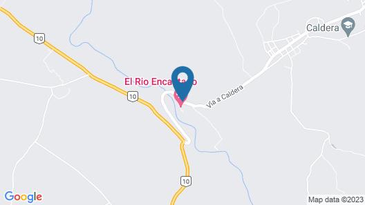Cabanas Rio Encantado Map
