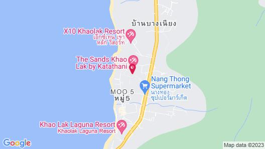 Moracea by Khao Lak Resort Map