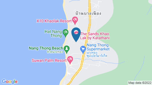 Moracea by Khao Lak Resort Map