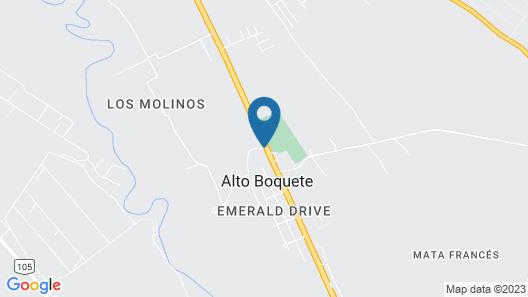 Hacienda Los Molinos Boutique Hotel Map