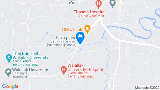 Pava Place Map