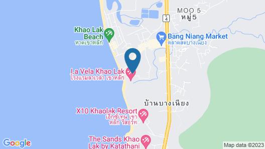 La Vela Khao Lak Map