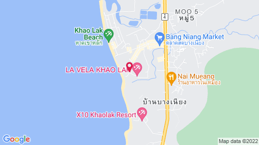 Ramada Resort by Wyndham Khao Lak Map
