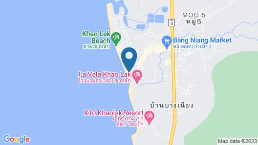 La Flora Khao Lak Map