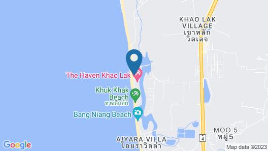 The Haven Khao Lak Map