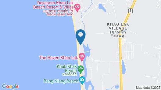 Khaolak Orchid Beach Resort Map