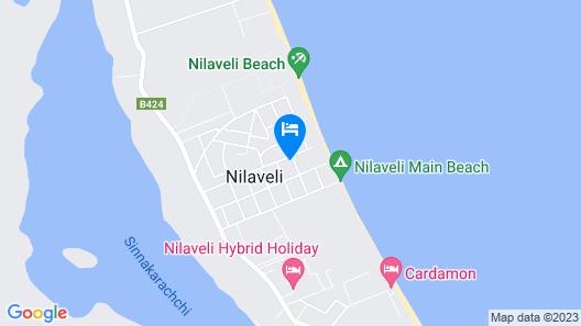 Sea Zone Hotel Nilaveli Map