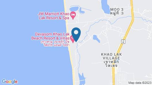 Devasom Khao Lak Beach Resort & Villas Map