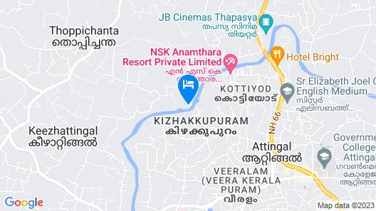 Mekosha Ayurveda Spa Retreat Map