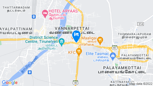 Regency Tirunelveli By GRT Hotels Map
