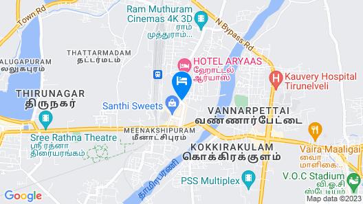 Sree Bharani Hotels Map