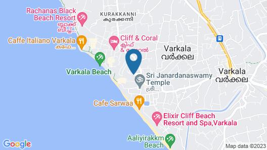 Gateway Varkala - IHCL SeleQtions Map