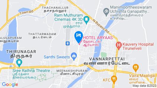 RR INN- Tirunelveli Map