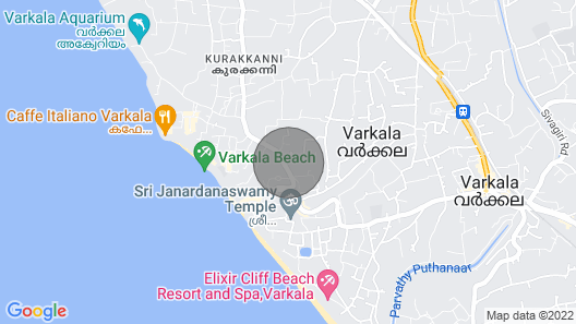 Archana beach home staly.feel like a 'Home a way from hom' Map