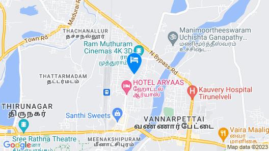 Hotel Sree Annamalaiyar Park Map