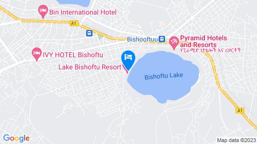 Lake Bishoftu Resort Map