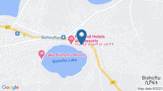 Dreamland Hotel and Resort Map