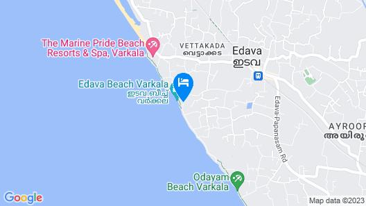 BCanti Boutique Beach Resort Map