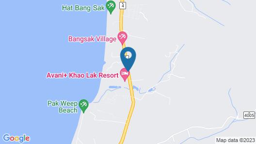 Manathai Khao Lak Map