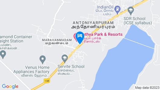 Sathya Park & Resorts Map