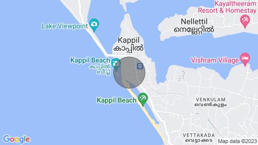 M R Beach & Cottages  - 2 Map