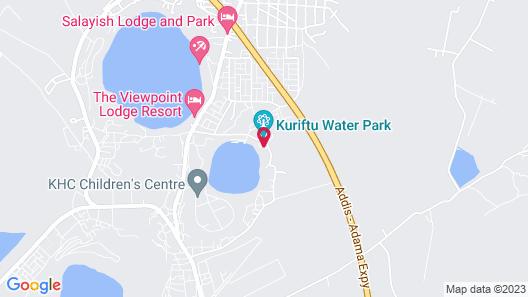 Kuriftu Resort & Spa Bishoftu Map