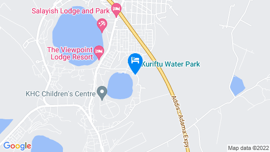 Kuriftu Resort & Spa Bishoftu Map