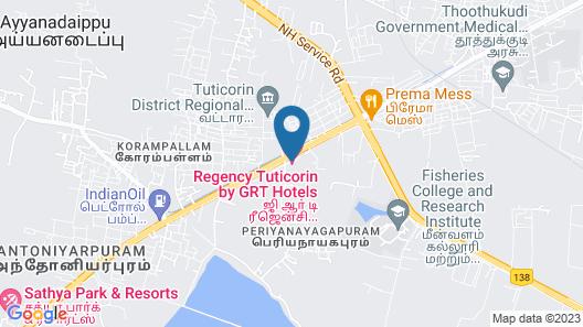 Regency Tuticorin by GRT Hotels Map