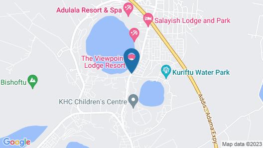 Babogaya Lake Viewpoint Lodge Map