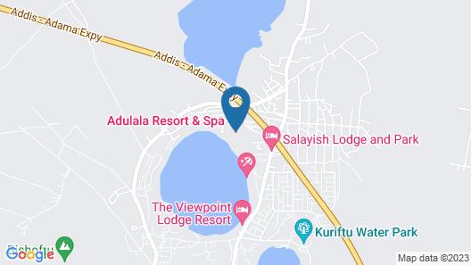 Adulala Resort & Spa Map