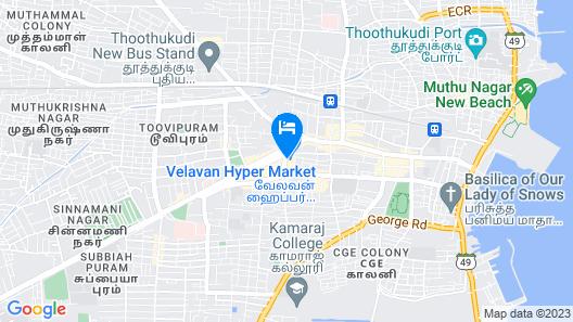 Chitra Lodge Map