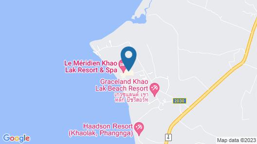 Bangsak Merlin Resort Map