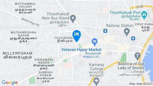 Capital O 61144 Hotel Raj Map