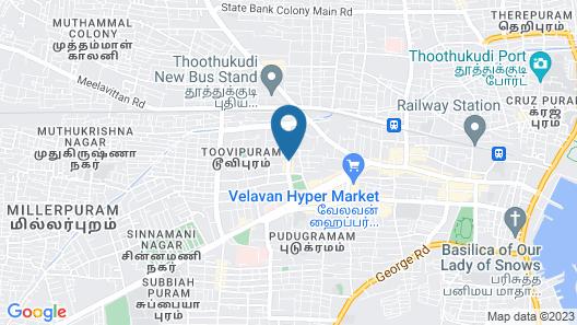 SPOT ON 61149 Hotel Sivanthi Map