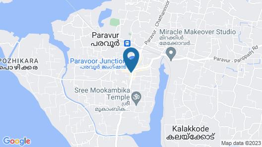 OYO 16812 Hotel Padippurayil Map